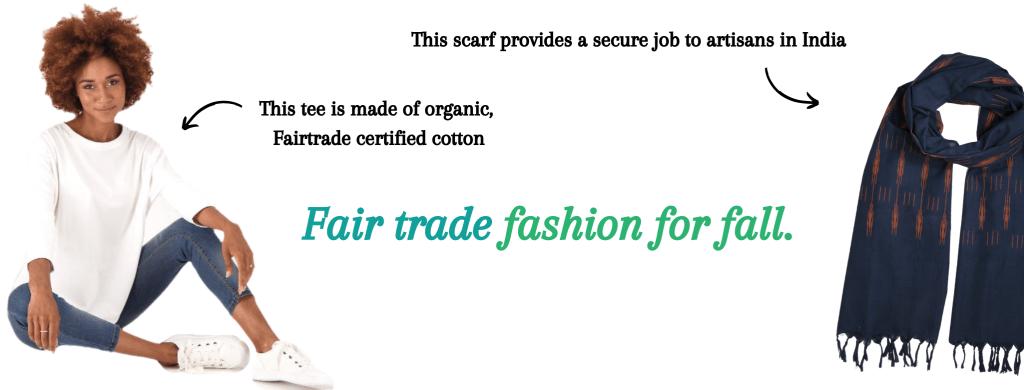 Buy Good. Feel Good. Fair trade fashion for fall